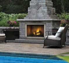 napoleon riverside series 42 clean face outdoor stainless steel gas fireplace gss42cfn