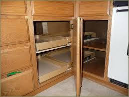 Corner Kitchen Cabinets Design Blind Corner Cabi Solutions Diy Best Home Design Ideas