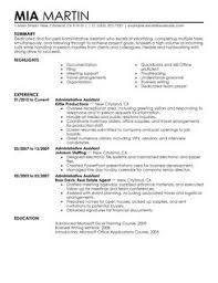 ... administrative assistant administration office support resume example  contemporary Administrative Assistant Resume Example administrative  assistant ...