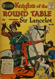 comic book cover for knights of the round table 10