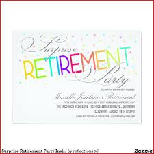 016 Retirement Party Invitation Template Ideas Singular
