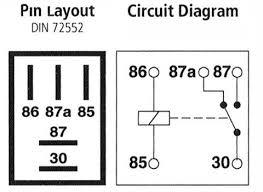 12v 20a micro relay 5 pin truck electrics 12v 20a micro relay 5 pin
