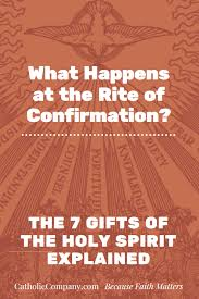 if you ve received the sacrament of confirmation you have these seven
