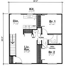 Country Traditional Garage Plan 6015 Level Two