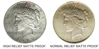 1922 Peace Silver Dollar High Relief Coin Value Prices