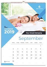Wall Calendar Design Ideas 2019 Wall Calendar 2019 Ad Wall Sponsored Calendar
