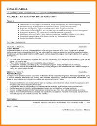6 Bakery Manager Resume Outline Research Paper