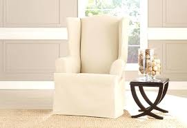 surefit chair slipcovers sure fit cotton duck club chair slipcover