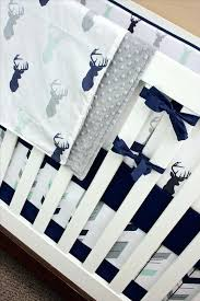 baby deer crib bedding sets navy mint and gray baby bedding crib set mint gray by baby boy deer crib bedding sets hunting baby bedding crib sets