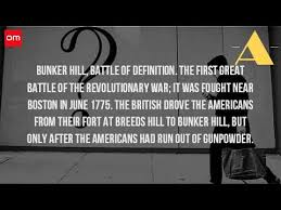 what was the meaning of the battle of bunker hill  what was the meaning of the battle of bunker hill