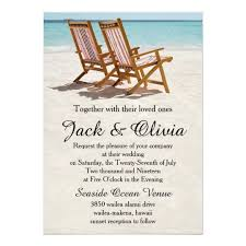 beach wedding invitations & announcements zazzle When To Mail Destination Wedding Invitations beach chairs destination wedding invitation when to mail out destination wedding invitations