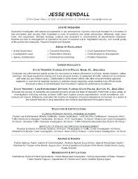 Police Officer Resume Template Beauteous Police Officer Resume Templates Police Officer Resume Samples