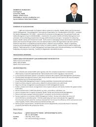 Civil Engineer Resume Samples Johnsimpson Co