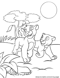 Crayola Giant Coloring Pages Lion Kingl