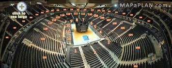 Mag Seating Chart Madison Square Garden Seating Chart Detailed Seat Numbers