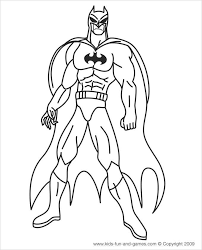 114 batman pictures to print and color. Superhero Coloring Pages Coloring Pages Free Premium Templates