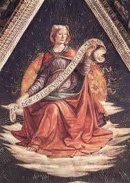 domenico ghirlandaio 1449 1494 sibyl 1485 fresco santa trinita italian renaissance arthigh renaissancefrescopainting techniquessantaflorencexii