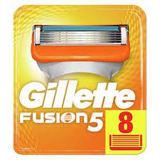 """<b>Кассеты для бритья сменные</b> Gillette """"Fusion"""", 8шт."""