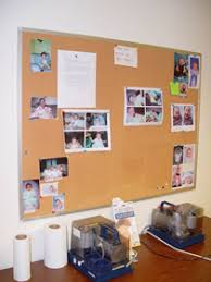 many milk expression rooms provide a bulletin board for mothers to share photos and celebrate successes with one another break room bulletin board