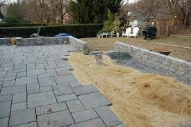 diy flagstone patio over concrete patio material design pool diy flagstone patio on concrete