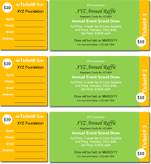 Draw Tickets Template 20 Free Raffle Ticket Templates With Automate Ticket Numbering