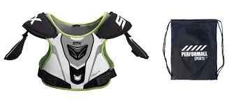 Stx Cell 3 Shoulder Pad Size Chart Amazon Com Stx Cell 100 Lacrosse Shoulder Pad Xs White