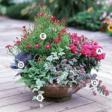 Recipes For Beautiful Container GardensBhg Container Garden Plans
