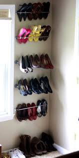 shoes furniture. Furniture. Decor Ikea Shoe Storage, Simple Shoes Rack, Stainless Hanging Shelves. Great Storage Ideas Furniture N