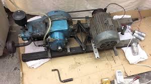 induction motor setup as a generator