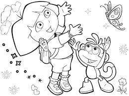 Coloring Pages Dora The Explorer Coloring Pages Dora The Explorer