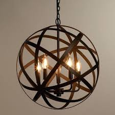 beautiful orb light fixture best ideas about chandelier on pertaining to remodel metal canada world market throughout designs 0