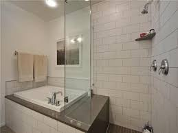 Shower with a small soaking tub | Useful Reviews of Shower Stalls .
