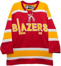 K1 Hockey Jersey Size Chart Amazon Com K1 Sportswear Philadelphia Blazers Red Vintage