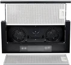 Кухонная <b>встраиваемая вытяжка Weissgauff</b> TEL 06 2M BL