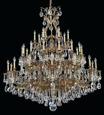 schonbek crystal chandelier versailles rock replacement parts