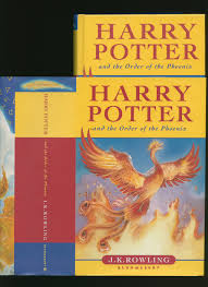 harry potter and the order of the phoenix children s dust wrapper edition 8 book id 71024 published