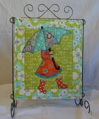 Best 25+ Mini quilt patterns ideas on Pinterest | Quilt patterns ... & April Showers April Monthly Mini Quilt Pattern by QuiltVine Adamdwight.com