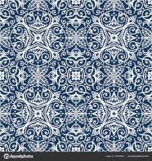 Arabesque Pattern Magnificent Blue Arabesque Pattern Stock Vector © Amovitania 48