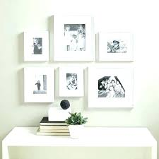 white gallery frame set full size of piece wall photo frames empty on perfect 7