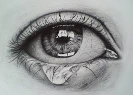 eyes drawings crying eye sketch drawing pinterest drawings eye sketch and