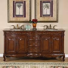 double sink bathroom vanity. silkroad exclusive ella english chestnut undermount double sink bathroom vanity with granite top (common: n