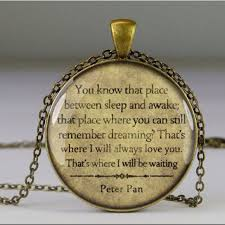 peter pan pendant on the hunt