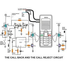 build a homemade gsm car security system electronic circuit projects the call back feature looking at the circuit diagram