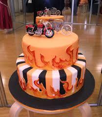 Harley Davidson Cake Decorations 27 Best Images About Cakes Harley Davidson On Pinterest