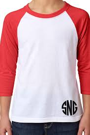 Next Level Youth Raglan Size Chart Monogrammed Or Blank For Diyers Next Level Youth 3 4