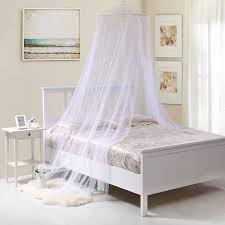 Princess Bed Canopy Mosquito Net for Kids Baby Crib, Round Dome Kids Indoor  Outdoor Castle