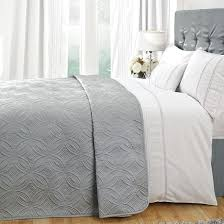 collection grey bedspread dunelm