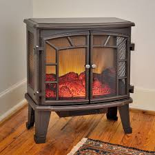 electric fireplace stove. duraflame 950 bronze electric fireplace stove with remote control - dfs-950-6 d