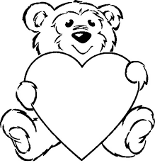 Small Picture Taking Care of Teddy Bear Coloring Page Color Luna