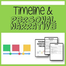 Personal Narrative And Timeline Project By Msarwyn Tpt